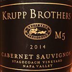 Krupp Brothers 2014 M5 Stagecoach Vineyard Cabernet Sauvignon